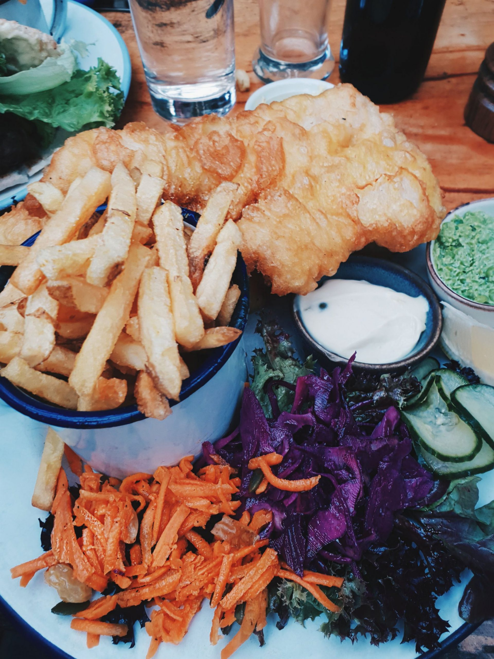 Fish and Chips - one of my favourites