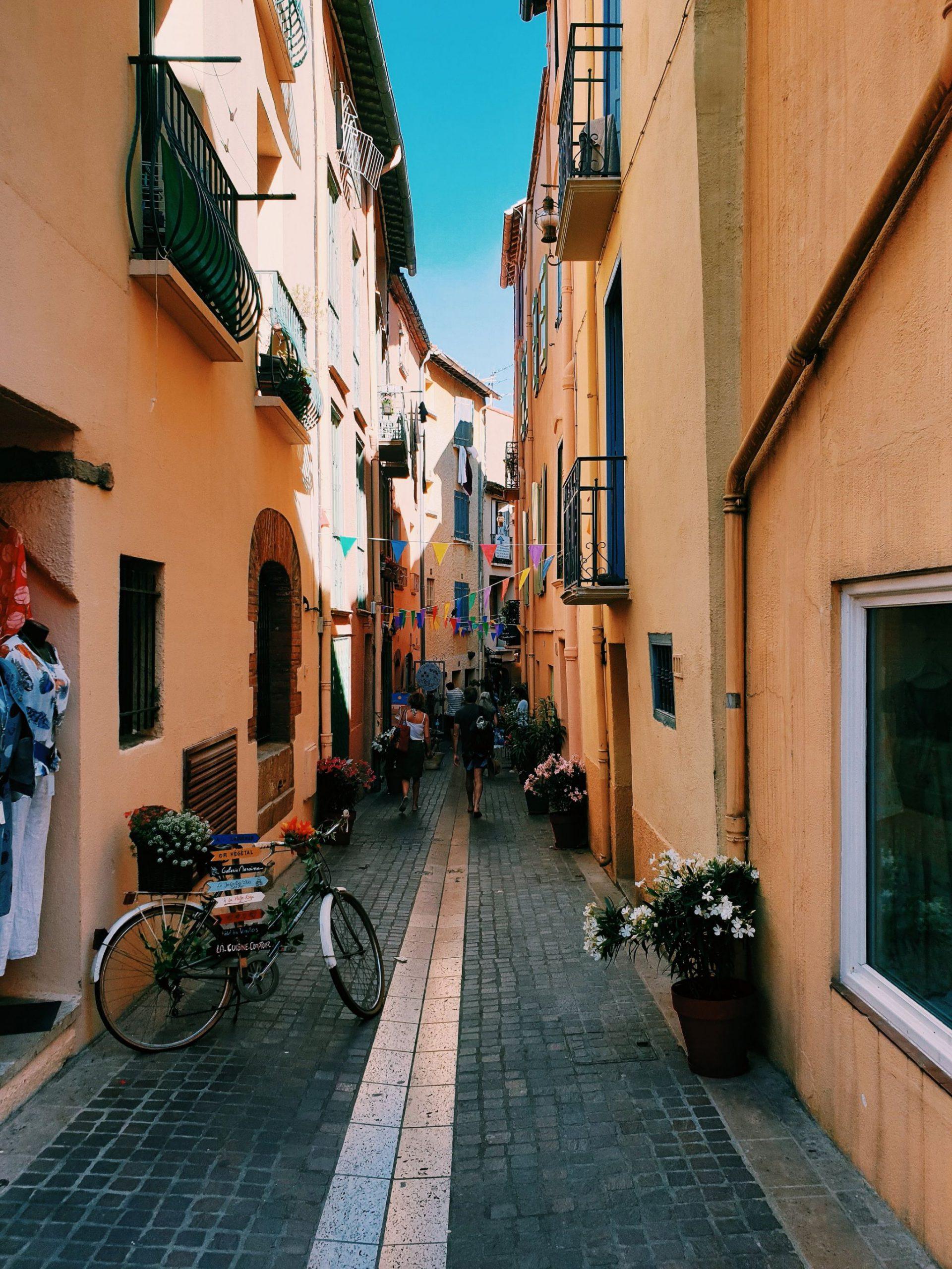 Collioure streets
