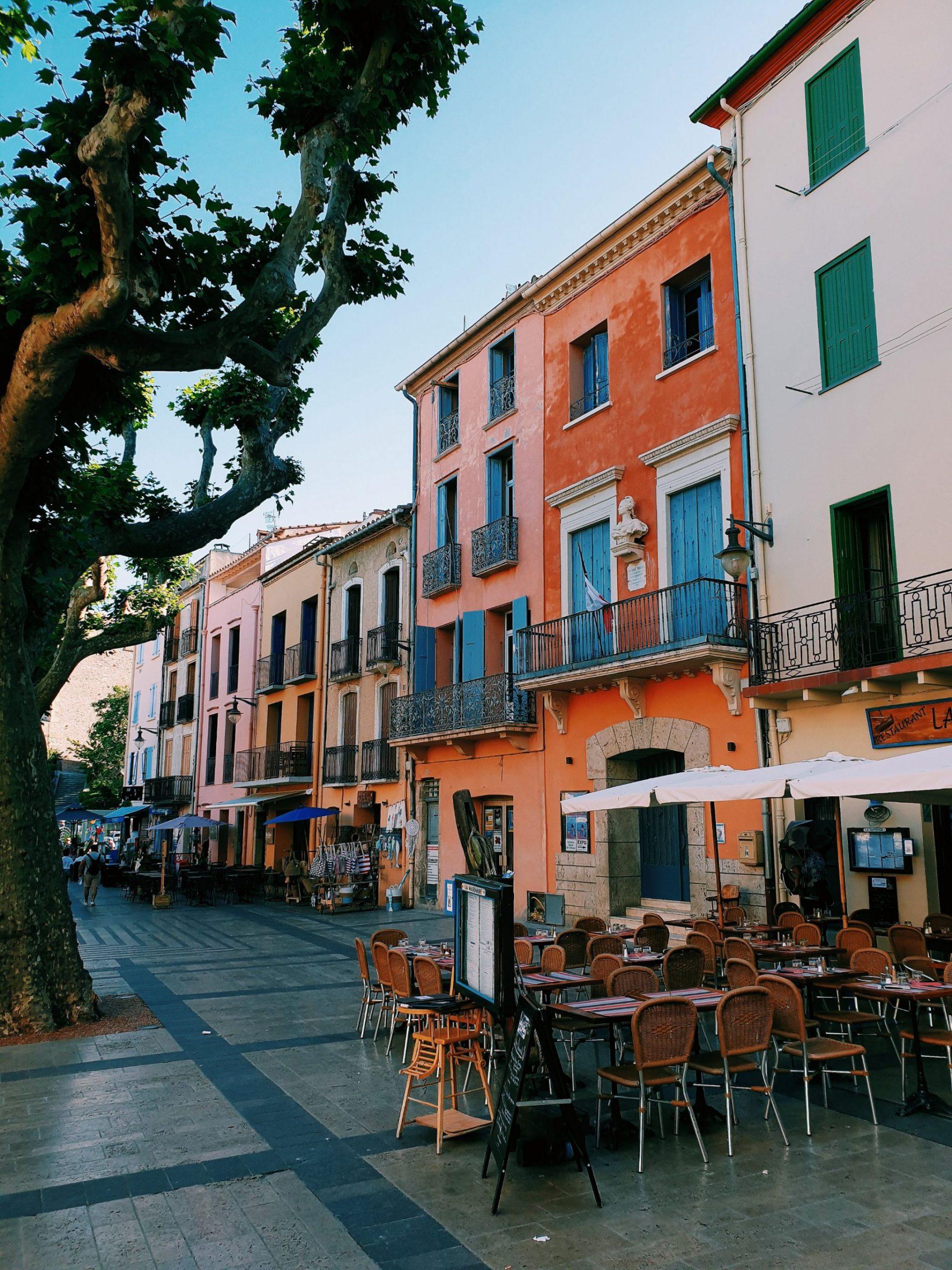 The square in Collioure