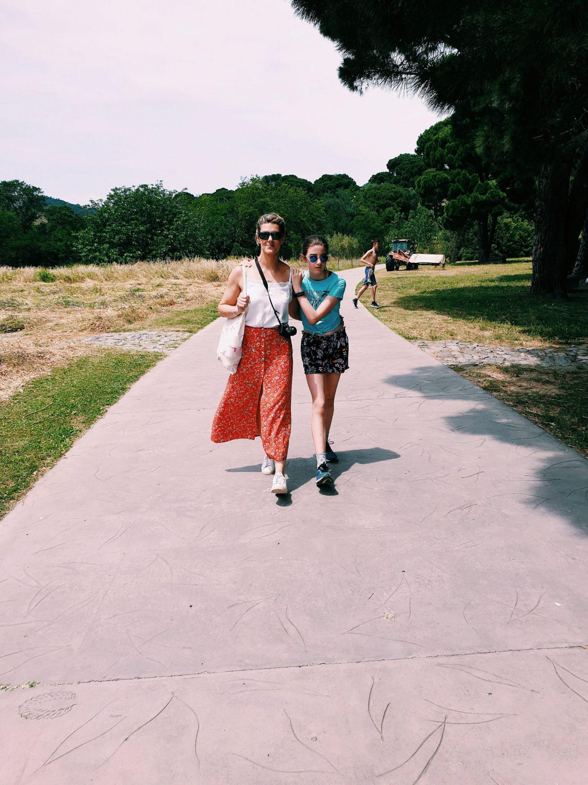 Strolling at Paulilles